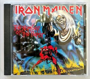 Iron Maiden - The Number of The Beast - ©&®1982 EMI 1°STAMPA
