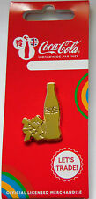 LONDON 2012 OLYMPICS COCA COLA GOLD BOTTLE LOGO PIN