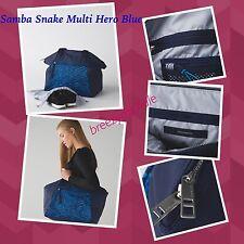 NWT Lululemon FREE TO BE BAG Samba Snake Multi Hero Blue... FAST SHIP!!