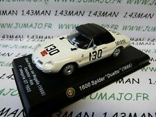 IT88M Coche 1/43 Alfa Romeo : 1600 Spider Duetto 1966 Blanco
