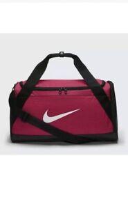 Nike Brasilia Training Duffel Bag Travel Gym Sport Pink - 40 Litres - BA5335 644