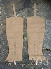 c.WWII British Military Dispatch Rider's Waterproof Motorcyclists Leggings