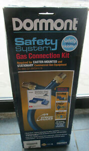 """DORMONT SAFETY SYSTEM GAS CONNECTION KIT 1675KIT2S36PS 3/4"""" x 36"""""""