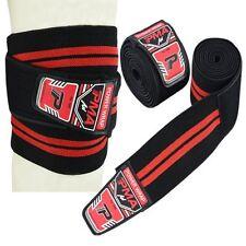 PMA Knee Wraps Peso sollevamento Cinghie fasciatura Guardia Powerlifting Pad Maniche Palestra