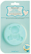 Kitchen Craft Teddy Bear Silicone Fondant Icing Mould Cake Decorating Topper