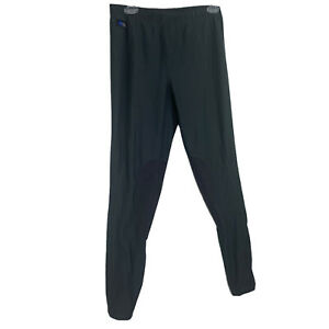 Irideon Women's Riding Breeches Tights Knee Patches XL Gray Stretch
