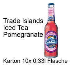 Trade Islands Iced Tea Pomegranate 10 Flaschen je 0,33l