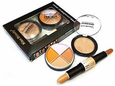 KISS BEAUTY SHADE-C HD 3 IN 1 FACE CONTOUR FOUNDATION, CONCEALER, PRIMER-23001-