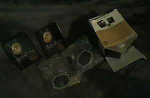 2 Harry Potter Horcux replica Lockets + sticker kit LOT! N.I.P 2016 Warner Bros