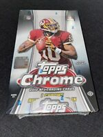 2012 Topps Chrome Football Factory Sealed Hobby Box Russell Wilson Rookie Auto??