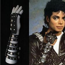 Michael Jackson Bad Rivet Black Leather Glove Right Hand Handmade collection