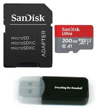 Sandisk 200GB 200 GB Micro SDXC Class 10 c10 Memory Card for Nintendo Switch