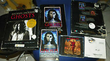 Michael Jackson GHOSTS Boxset K7 VHS,CD et DVD