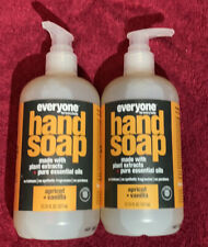 Everyone for Everybody Hand Soap Apricot Vanilla 12.75oz Each Lot Of 2