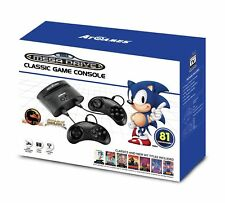 NEW SEGA MEGA DRIVE CLASSIC 81 BUILT IN GAMES CONSOLE - PERFECT XMAS GIFT