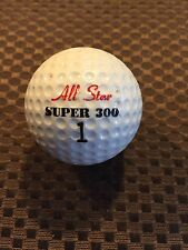 LOGO GOLF BALL-ALL STAR SUPER 300......VINTAGE...
