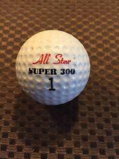 LOGO GOLF BALL-ALL STAR SUPER 300......VINTAGE...