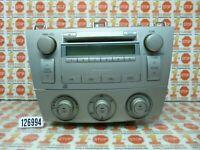 04 05 2006 06 TOYOTA SOLARA AM/FM RADIO CD PLAYER & AC CONTROL 86120-AA140 OEM