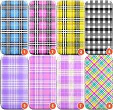 Plaid Wallet Flexible Phone Case for iPhone | Tartan Checked Checkered Patt