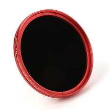 FOTGA 77mm Camera Fader Variable ND Filter Neutral Density ND2 ND8 to ND400 Red