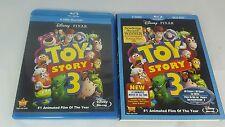 Disney Pixar Toy Story 3 Blu Ray 2 Disc Set With Slip Cover