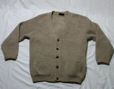Vintage Pitlochry Homespun Cardigan Sweater Pure New Wool Made in Great Britian