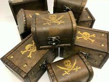 Clearance Jolly Roger/ Skull & Crossbones Pirate Treasure Chest Christmas Box