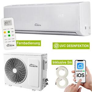 Split Klimaanlage Lokales Klimagerät Luftreinigung 12000 BTU 5in1 WLAN Eco 5m CU