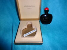 Joy Jean Patou Pure perfume/parfum 1/4 oz 7.5 ml Black/red bottle+box vintage