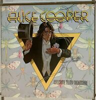 ALICE COOPER~Pre-Owned LP-WELCOME TO MY NIGHTMARE-SD19157..RARELY PLAYED.