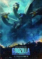 Godzilla King of the Monsters Zero Gojira Mothra Movie Puzzle Jigsaws 1000 PCS