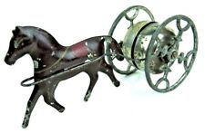 Vintage c.1890 Gong Bell Horse Revolving Chimes #77 Bell Toy