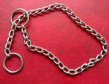 "Dog Training METAL CHOKE Chain Collar 12""-14"" x 2mmGuardian Gear"