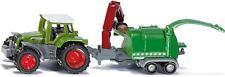 SIKU 1675 - Tractor Con picador de madera,Escala 1:87 ,NUEVO / embalaje original