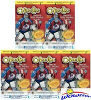 (5) 2002/03 Topps OPC O-PEE-CHEE HOCKEY Factory Sealed Blaster Box-5 JUMBO Card