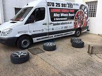 alloy wheel refurbishment service