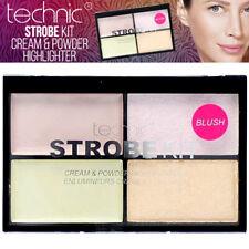 Technic Strobe Highlighter Kit Palette Cream Powder Contour - Blush