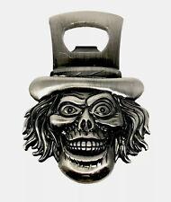 Disney Parks Haunted Mansion Hatbox Ghost Metal Bottle Opener Magnet New