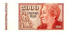 "Chile ... P-155a ... 5000 Pesos ... 1981 ... Ch*VF-XF*. Serie ""25""."