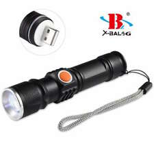 Mini Torcia Led XM-L T6 Ricaricabile USB BL-515-T6 linq