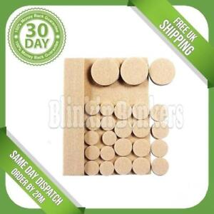 LARGE SMALL FELT PADS SELF ADHESIVE STICKY WOOD FLOOR FURNITURE GUARD PROTECTION