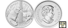 2013 5oz Proof $50 'The Beaver' .9999 Fine Silver Coin (13089) (NT) (OOAK)