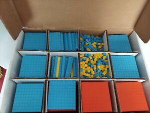 Base Ten Set Home School Mathematical Teaching Supplies
