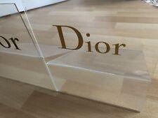 DIOR 2x Prestige Display Aufsteller Offizieller Dealer Händler Shop  Rarität