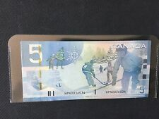 Canada Journey 2006 $5 HPN 2 white stars error /  variety  Jenkins/Carney Unc