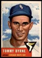 1953 Topps EX Tommy Byrne Chicago White Sox #123