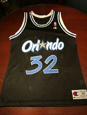 Shaquille O'Neal Retro Champion Orlando Magic jersey Size 40