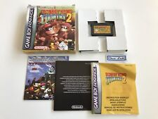 Donkey Kong Country 2 - Nintendo Game Boy Advance GBA - PAL NEU6 - Avec Notice