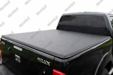 Toyota Hilux Soft Folding Tonneau Bed Cover 2005-2015 D/C Quick and Easy Fit