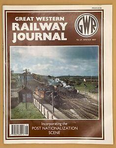 GWR Great Western Railway Journal Magazine 1997 Issue No.s 21 22 23 24